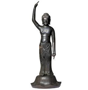 釈迦誕生仏立像