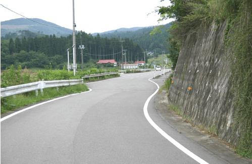 地方の道路事情